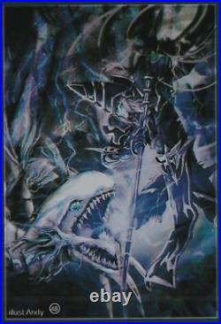 (100)Yu-Gi-Oh Standard Size Dark Magician vs Blue-Eyes White Dragon Card Sleeves