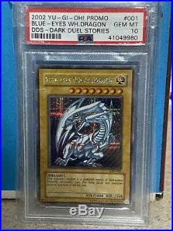 2002 DDS Blue-eyes White Dragon PSA 10