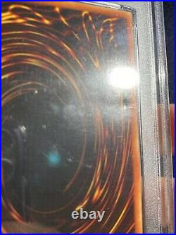 2002 WAVY Yugioh BLUE-EYES WHITE DRAGON LOB-001 1st Ed Ultra Rare PSA 4 VG-EX