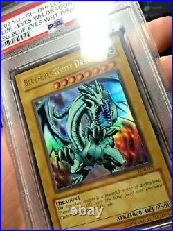 2002 Yu-Gi-Oh! Blue-Eyes White Dragon Original LOB-001 PSA 10 (Not a Reprint)