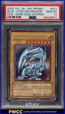 2002 Yu-Gi-Oh! Dark Duel Stories Blue-Eyes White Dragon DDS-001 PSA 10 GEM MINT