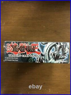 2002 Yu-Gi-Oh! Legend Of Blue Eyes White Dragon 1st Edition Booster Box Sealed