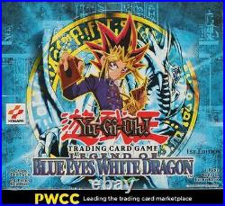 2002 Yu-Gi-Oh! Legend Of Blue Eyes White Dragon 1st Edition Gaia TDC Booster Box