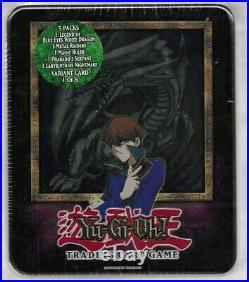 2003 Yu-gi-oh Blue Eyes White Dragon Kaiba Design Sealed Tin See Scans