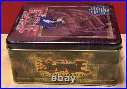 2003 Yugioh Kaiba Blue Eyes White Dragon Tin SEALED NEW with Rare BPT-009