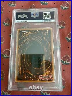 2020 Yu-Gi-Oh! 1st Edition Maximum Gold #EN001 Blue-Eyes White Dragon PSA 9