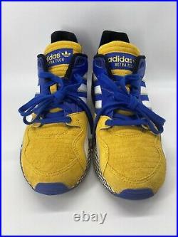 Adidas Ultra Tech Dragon Ball Z Vegeta Blue Yellow D97054 Goku Gonna Size 11.5