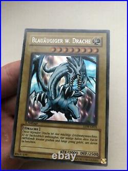 BLAUÄUGIGER W. DRACHE LOB-G001 1. Auflage Legend of Blue Eyes White Dragon