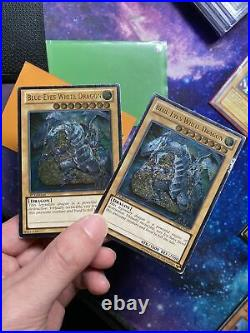 Blue Eyes White Dragon Collection Used LOB-001, DLG, MAGO, DPKB 1st Edition Etc