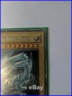 Blue-Eyes White Dragon DDS-001 Prismatic Secret Rare, Excellent, VLP