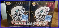 Blue Eyes White Dragon Funko Pop Box Lunch YuGiOh 2XL & MEDIUM Tees Sealed READ