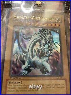 Blue-Eyes White Dragon LOB 1st Edition English