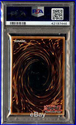 Blue-Eyes White Dragon SDK-001 PSA 10 Gem Mint Starter Kaiba Yugioh Unlimited