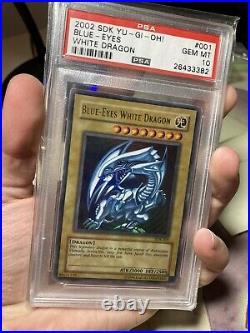 Blue Eyes White Dragon Unlimited SDK-001 PSA 10 Gem Mint