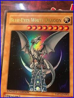 Blue-Eyes White Dragon YAP1-EN001 Ultra Rare Limited Edition NM