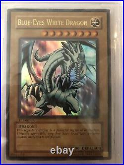 Blue eyes white dragon lob-001 1st edition