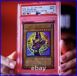 Dark Magician LOB-005 1st Edition PSA 9 (Legend of Blue Eyes White Dragon)