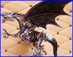 Duel Monsters Blue-Eyes White Dragon Painted Resin Statue Model Collection
