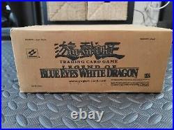Konami Yu-Gi-Oh Legend of Blue Eyes White Dragon 1st Edition (NA) Factory Case