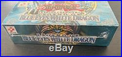 Legend of Blue-Eyes White Dragon 1st Edition (WAVY) Booster Box
