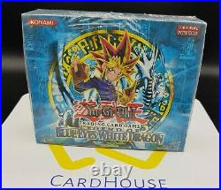 Legend of Blue Eyes White Dragon Booster Box LOB Factory Sealed Yu-Gi-Oh 2002 EU