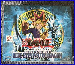 New Sealed Box Yu-gi-oh Legend Of Blue Eyes White Dragon Card Game Booster Box