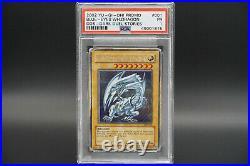 PSA 1 Blue Eyes White Dragon 2002 Yugioh Promo DDS Dark Duel Stories DDS-001