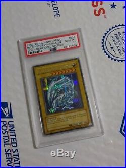 PSA 10 GEM MINT Blue-Eyes White Dragon (DDS-001) Dark Duel Stories promo rare