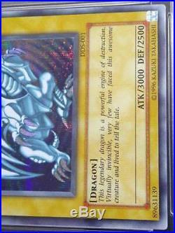 PSA 10 GEM MINT Blue-Eyes White Dragon DDS-001 promo rare Dark Duel Stories