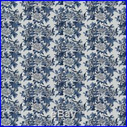 Ralph Lauren Nanking Fabric 10 Yrds Dragons Chinoiserie Blue White PRICE DROPPED