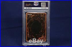 Wavy Blue-Eyes White Dragon LOB-001 PSA 4 Ultra Rare 1st edition Yugioh Card
