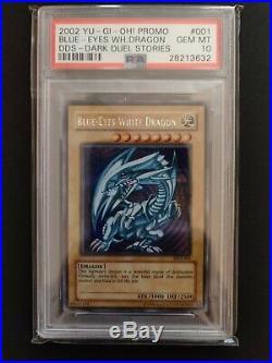 YU-GI-OH! 2002 Blue Eyes White Dragon Secret Rare DDS001 PSA10