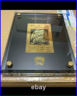 YU-GI-OH! Card Made of pure gold Blue-Eyes White Dragon 20th ANNIV GOLD EDITION