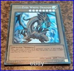 YUGIOH Error! Misprint Blue-Eyes White Dragon CT14-EN002 Secret Rare Limited