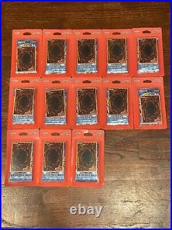 YUGIOH LEGEND OF BLUE EYES WHITE DRAGON BLISTER PACK 2 BOOSTER Lot of 13