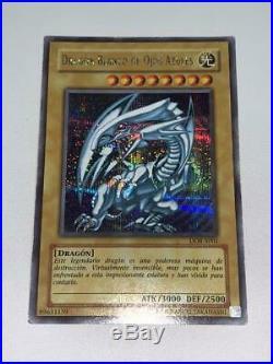 Yu-Gi-Oh! Blue Eyes Blue Eyes White Dragon Spanish Secret DOR EMS only