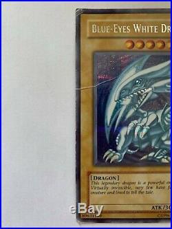 Yu-Gi-Oh Blue-Eyes White Dragon DDS-001 Limited Secret Rare Edition