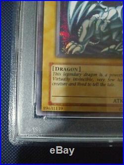 Yu-Gi-Oh! Blue-Eyes White Dragon DDS-001 Secret Rare PSA 10 GEM MINT