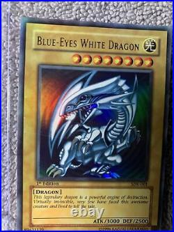 Yu-Gi-Oh! Blue Eyes White Dragon SDK-001 1st Edition Ultra Rare