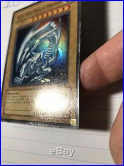Yu-Gi-Oh! Blue-Eyes White Dragon SDK-001 1st Edition Ultra Rare LP/MP