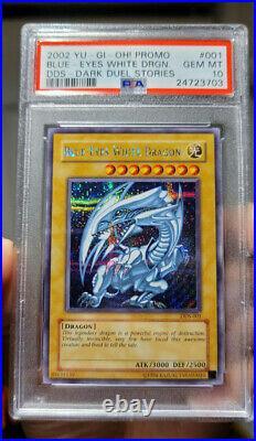 Yu-Gi-Oh! Dark Duel Stories Blue-Eyes White Dragon DDS-001 PSA 10