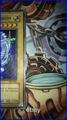Yu-Gi-Oh! Dark Duel Stories Blue-Eyes White Dragon DDS-001 Secret Rare