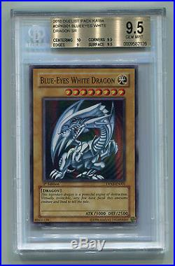 Yu-Gi-Oh! Duelist Pack Kaiba 1st Ed Blue-Eyes White Dragon DPKB EN001 BGS 9.5
