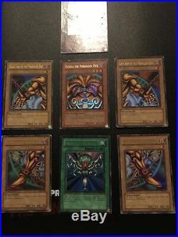 Yu-Gi-Oh! Legend of Blue-Eyes White Dragon (LOB, 2002) Complete 1st Edition Set
