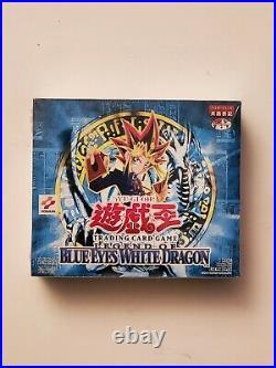 Yu-Gi-Oh Legend of Blue-Eyes White Dragon Sealed Booster Box Asian English