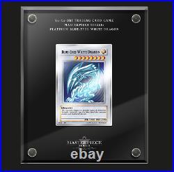 Yu-Gi-Oh! TCG Masterpiece Series Platinum Blue-Eyes White Dragon Pre-sale