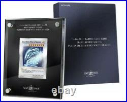 Yu-Gi-Oh! TRADING CARD GAME Masterpiece Series Platinum Blue-Eyes White Dragon