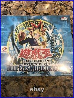 Yu-Gi-Oh World Std 1st ED Sealed Booster Box Legend Of Blue Eyes White Dragon