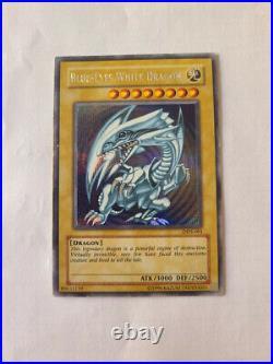 YuGiOh Card Blue Eyes White Dragon Secret Rare DDS-001 Promo Edition