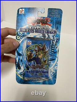 YuGiOh Legend of Blue Eyes White Dragon Blister Pack SEALED (slight Wear)